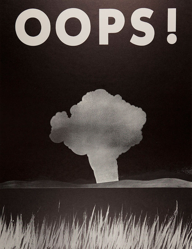 War Poster – Oops! – Group Commentary, Clayton David Pinkerton, 1968. Lithograph on paper