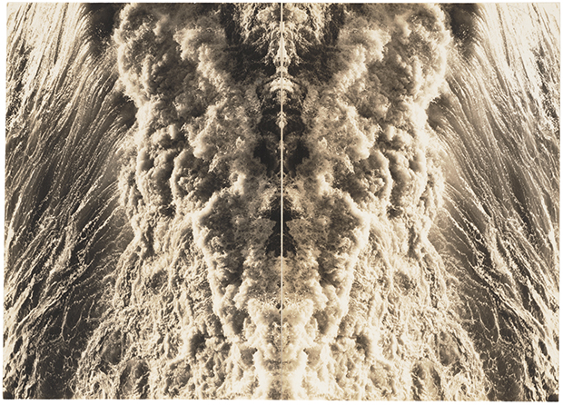 Jay DeFeo, Untitled 1973. Photo collage. Estate no. E2344. ©2018 The Jay DeFeo Foundation/Artists Rights Society (ARS), New York